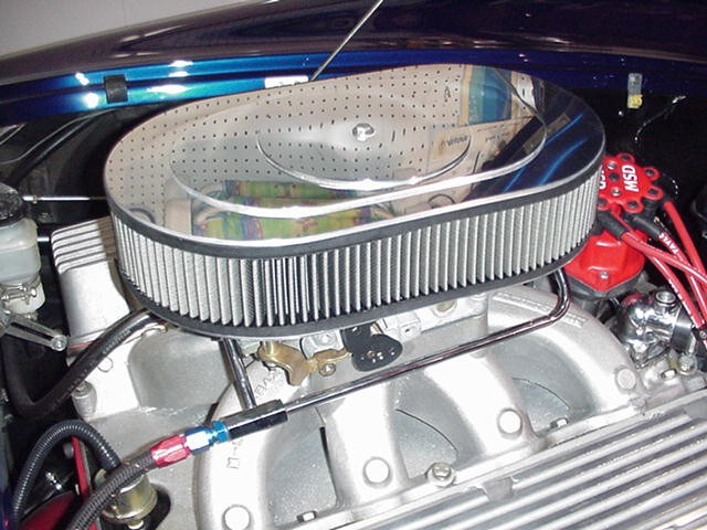 Air Cleaners For Dominator Carbs : Help with clearance problems ford club cobra